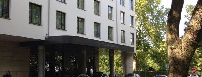 Steigenberger Parkhotel is one of Orte, die Mario gefallen.