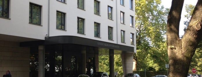 Steigenberger Parkhotel is one of Posti che sono piaciuti a Mario.