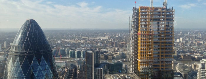 Duck & Waffle is one of London (food).