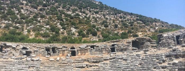 Limyra Antik Kenti is one of antalya rota.