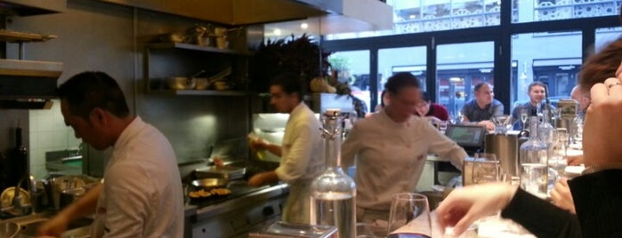 Barrafina is one of London spots.
