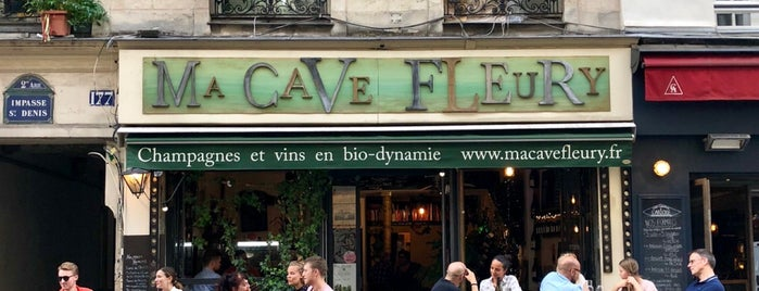Ma Cave Fleury is one of Paris.