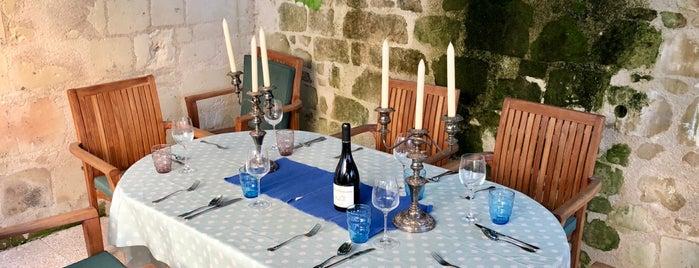 Montsoreau is one of Les plus beaux villages de France.