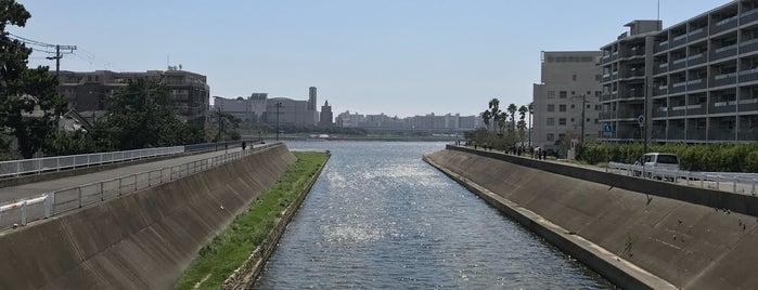 浜夙川橋 is one of 夙川にかかる橋.