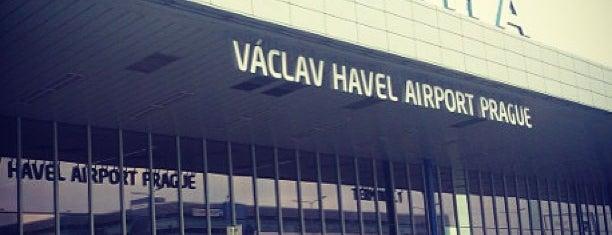 Letiště Václava Havla Praha (PRG) is one of Airports (around the world).