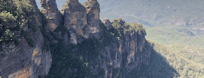 Katoomba Falls Lookout is one of Aussie Trip.