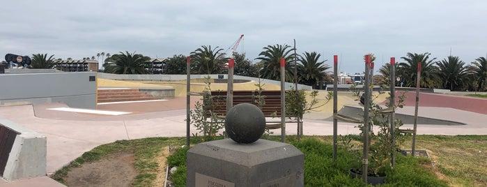 St Kilda Skate Park is one of Orte, die Michael gefallen.