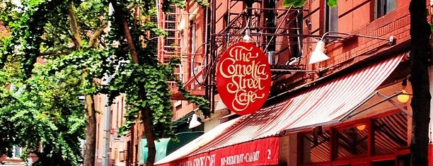 Cornelia Street Cafe is one of 5-Block Food Radius from Greenwich Village Apt.