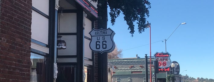 Historical Route 66 is one of RV vacation.
