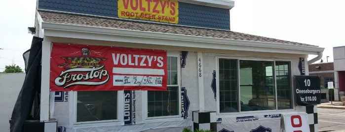 Voltzy's Rootbeer Stand is one of Ohio Burgers.