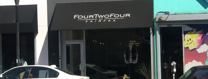 FourTwoFour on Fairfax is one of LA.