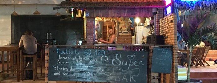 Super Bar is one of สถานที่ที่ Лина ถูกใจ.