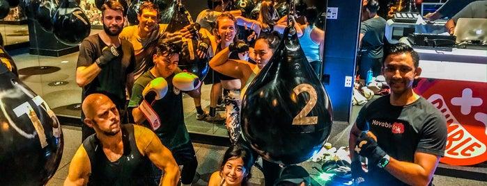 Rumble Boxing - FiDi is one of Orte, die Andres gefallen.