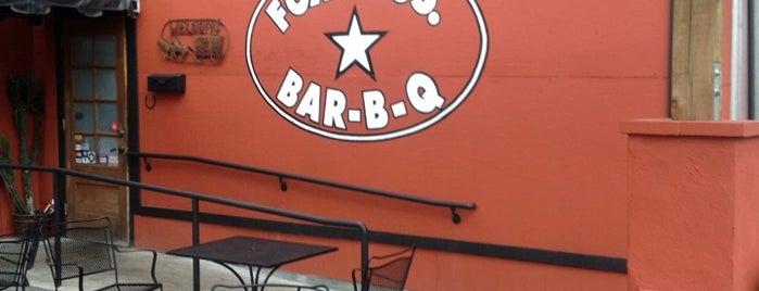 Fox Bros. Bar-B-Q is one of Atlanta Al Fresco.