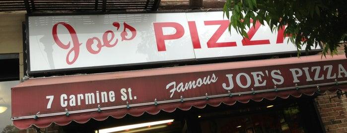 Joe's Pizza is one of Good Restaurants.