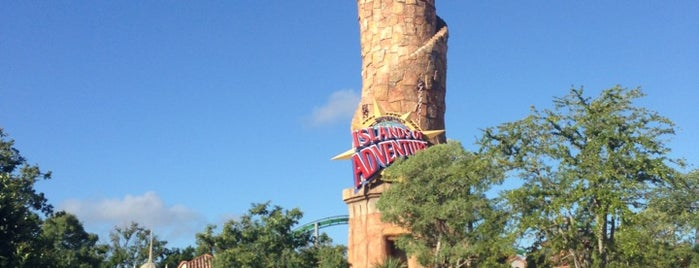 Universal's Islands of Adventure is one of US - Must Visit ( East Coast).