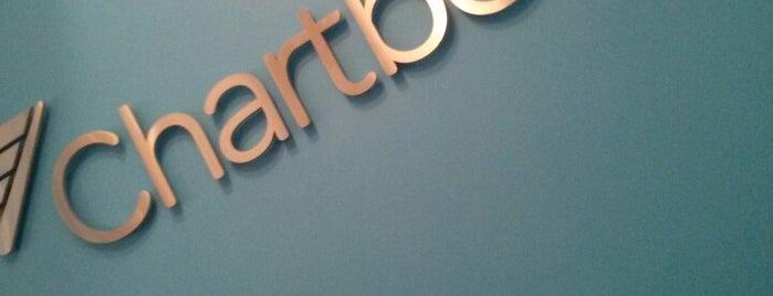 Chartbeat Studios is one of Tempat yang Disukai Huiru.