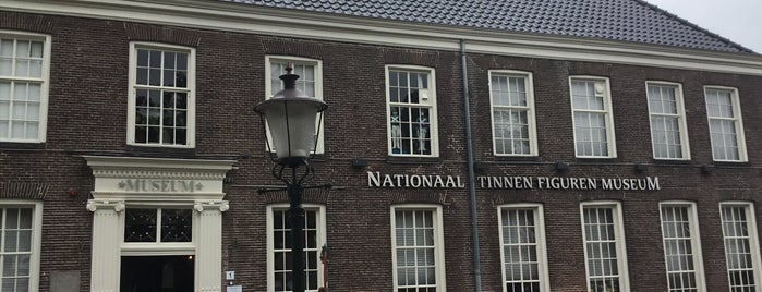 Nationaal Tinnen Figuren Museum is one of Museums that accept museum card.
