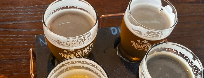 Ninepenny Brewing is one of Newfoundland.