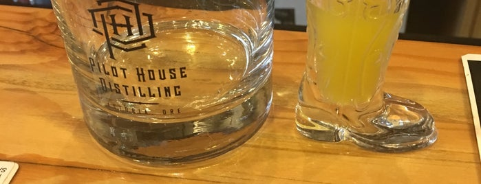 Pilot House Distilling is one of Oregon Distillery Trail.