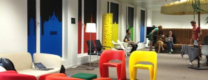 Google Brussels is one of Lieux qui ont plu à Olivier.