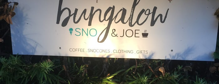 Bungalow Coffee is one of check out.