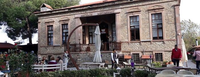 Artemis Restaurant & Şarap Evi is one of Wining.