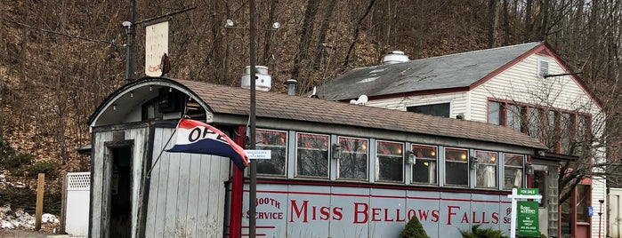 Miss Bellows Falls Diner is one of Stuff Near Pittsfield.