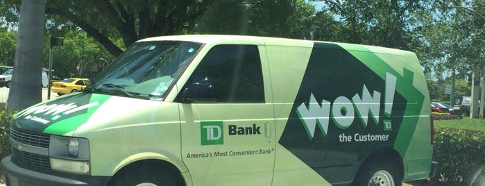 TD Bank is one of Banking locations.