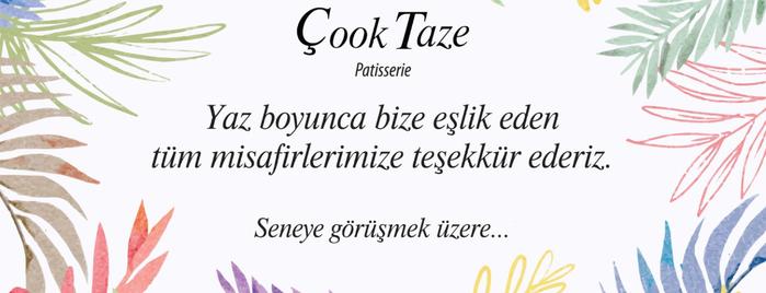 Çook Taze Patisserie is one of Turkey.