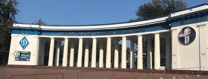 Стадіон «Динамо» ім. В. Лобановського is one of สถานที่ที่ 👫iki DeLi👫 ถูกใจ.