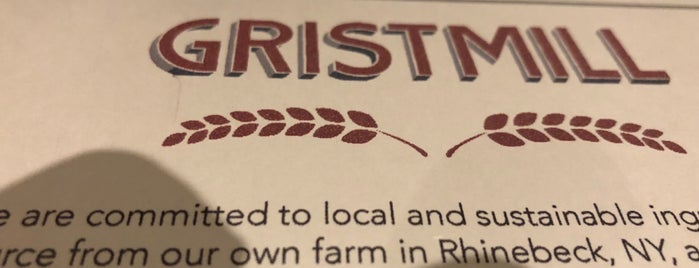 Gristmill is one of Bk pizza.