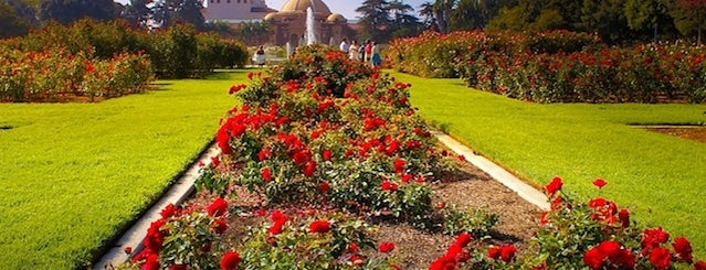 Exposition Park Rose Garden is one of LA.