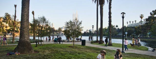 Echo Park Lake is one of 10 Best Picnic Spots in Los Angeles.