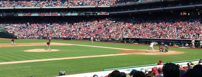 Citizens Bank Park is one of MLB.