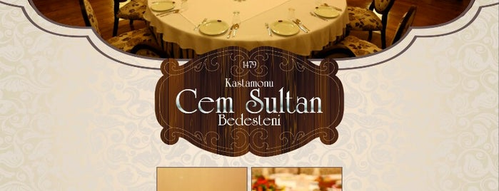 Cem Sultan Bedesteni is one of myBad.