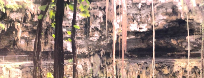 Cenote San Lorenzo Oxman is one of meksika.