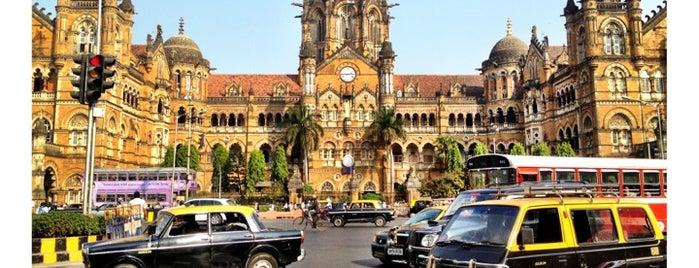 Chhatrapati Shivaji Maharaj Terminus is one of Mumbai 2014 LenTom.