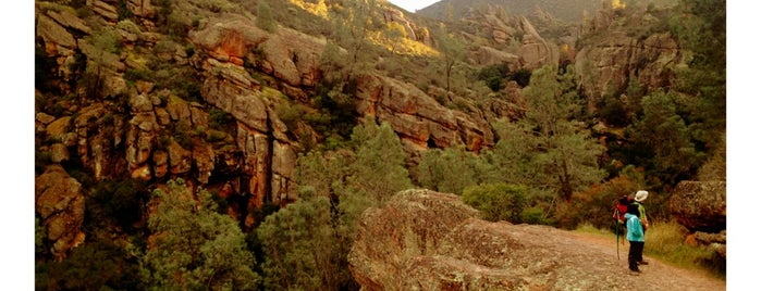 Pinnacles National Park is one of CBS Sunday Morning.