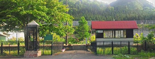 ゆだ錦秋湖駅 is one of JR 키타토호쿠지방역 (JR 北東北地方の駅).