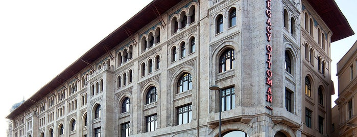Legacy Ottoman Hotel is one of Lugares guardados de Serap.