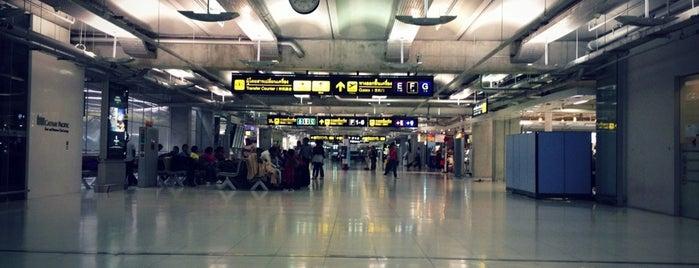 수완나품 공항 (BKK) is one of International Airport Lists (2).