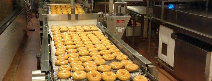 Krispy Kreme is one of Ice Cream & Desserts.