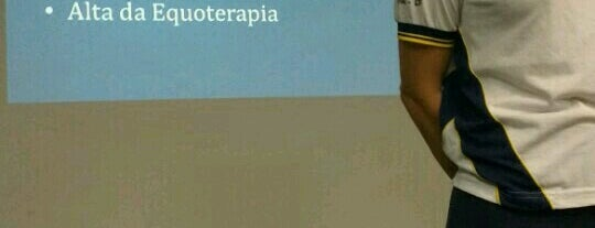 Associação Nacionalde Equoterapia is one of Locais curtidos por Guilherme.