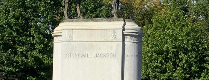 Stonewall Jackson Monument is one of ETC TIP ~2.