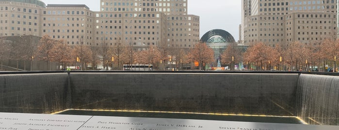 9/11 Memorial North Pool is one of NYC '18.