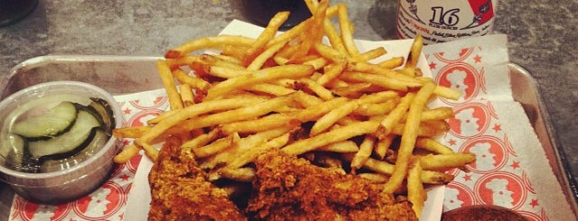 Blue Ribbon Fried Chicken is one of New Restaurants to Try.