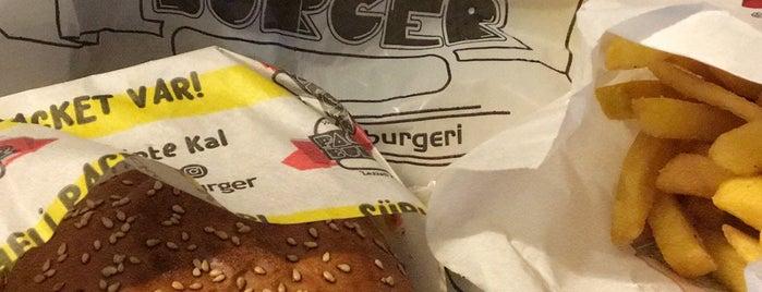 Packet Burger Bahçe is one of 🍔Burger.