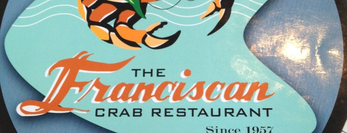 Franciscan Crab Restaurant is one of Foodie Finds.