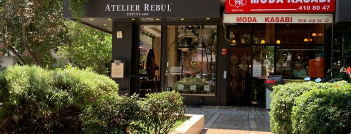 Atelier Rebul is one of Istanbul.